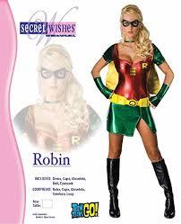 Female Robin Halloween Costume Amazon Batman Secret Wishes Robin Costume Clothing
