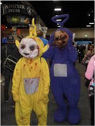 Teletubbie Halloween Costume Zombie Teletubbies Humor Stack