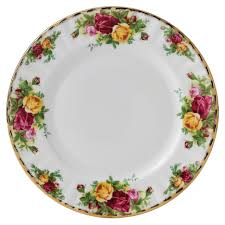 royal albert china dessert plate country roses