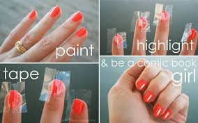 how to make highlights to your nails alldaychic