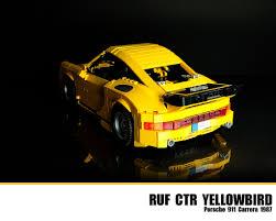 porsche ruf ctr lego ruf ctr yellowbird porsche 911 carrera 1987 flickr