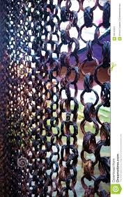 native curtain brown dark chain link philippines stock photo