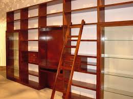 Elegant Bookcases Elegant Bookcase Modular With Movable Ladder Idfdesign