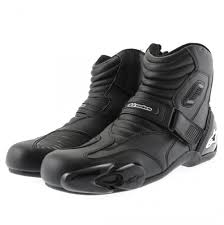 black motorbike boots alpinestars smx 1 1 short motorcycle boots black motorbike boot