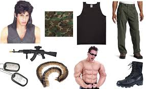 Arnold Schwarzenegger Halloween Costume Rambo Costume Diy Guides Cosplay U0026 Halloween