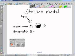 how to read a station model 3 20 12 wmv youtube