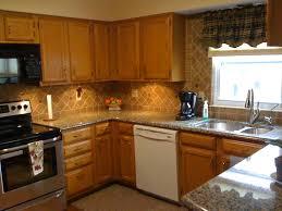 Tile Backsplash For Kitchens With Granite Countertops Spectacular Kitchen Granite Countertops Kitchen Kitchen Granite
