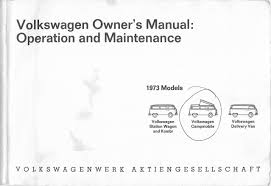 thesamba com 1974 vw bus owner u0027s manual