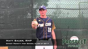 ernest righetti high school yearbook matt sauer rhp ernest righetti high school class of 2017 pitch