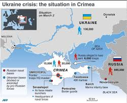 Map Of Ukraine And Crimea Ukraine Crisis The Situation In Crimea Teusje
