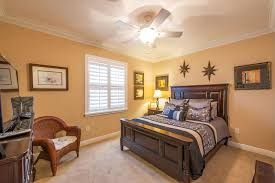 Ceiling Fan Size Bedroom by Traditional Master Bedroom With Crown Molding U0026 Carpet In Boynton