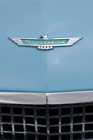 1957 ford thunderbird ornament 2 photograph by reger