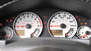 2016 nissan frontier warning and indicator lights youtube