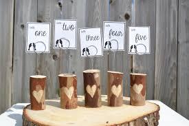 Table Numbers Wedding Wedding Tables Wedding Table Number Ideas Creative Wedding Table