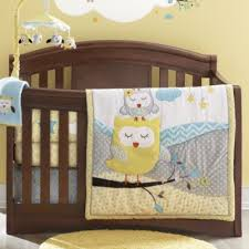 Sears Crib Bedding Sets Baby S By Nemcor Nap Time Owls 6 Crib Set Sears