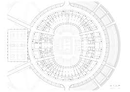 Stadium Floor Plans Basketball Stadium In Dongguan Gmp Architekten Archdaily