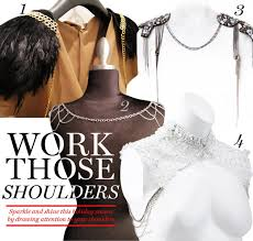 fall shoulder jewelry and accents fashion trends