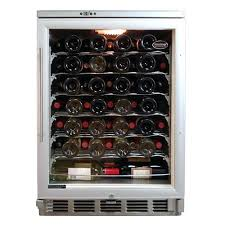 Trellis Wine Wine Rack Vinotemp 58 Bottle Build In Wine Refrigerator From