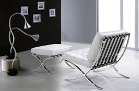 casa 0364 modern white leather