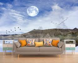 moon wall decal wall mural night romantic photo wallpaper night moon wall decal wall mural night romantic photo wallpaper night scene mountain