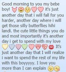 someone to cheer me up sweet messages text him own sweet