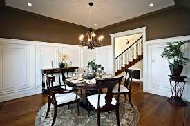 Wainscoting Dining Room Dining Room Molding Panels Traditional Dining Room With