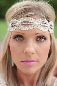 lace headbands hippi style headband bohemian lace headband wedding headband