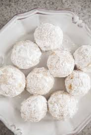 walnut snowball cookies recipe simplyrecipes com