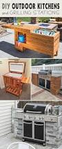 Outdoor Patio Kitchens by 25 Best Grill Station Ideas On Pinterest Backyard Patio Cheap