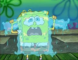 spongebob tear sweater spongebob tear sweater blank template imgflip