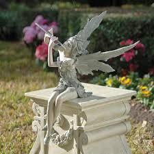 garden statues pixie design toscano