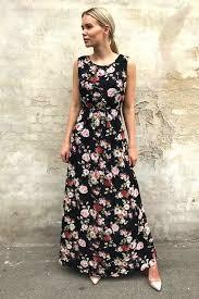 maxi kjole alma maxi kjole sort c h i c c