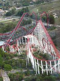 Six Flags Magic Mountain Fire File X2 And Viper At Six Flags Magic Mountain 2 Jpg Wikimedia