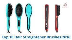 best hair brushes 10 best hair straightener brushes 2016 youtube