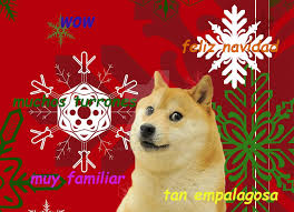 Doge Meme Christmas - my own christmas doge meme in spanish by petqueenie85 on deviantart