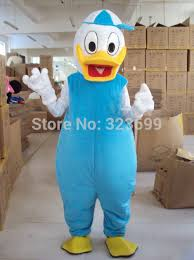 donald duck mascot costume walking cartoon doll clothing free