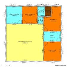plan maison plain pied 5 chambres plan de maison plain pied 5 chambres 2 plan maison carr233e