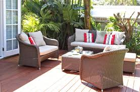 patio ideas patio conversation set with fire pit table wicker