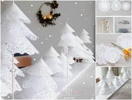 diy paper doily christmas tree
