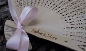 wedding fan favors sandalwood fans