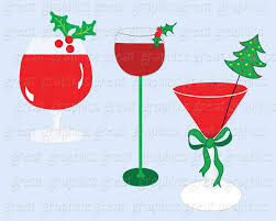 martini clipart no background christmas clipart drink clipart digital christmas invitation clip