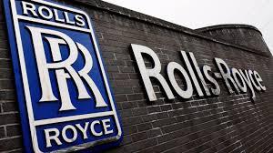 rolls royce logo rolls royce slumps to record loss of 4 64bn itv news