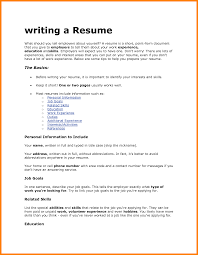 Resume For A Job Fair by How To Write A Resume For Job Free Resume Example And Writing