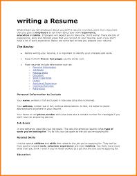 How Do You Write A Resume For A Job by How Do I Write A Resume Free Resume Example And Writing Download