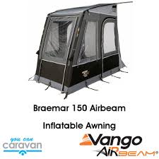 Vango Inflatable Awnings Vango Braemar 150 Awning With Airbeam Frame You Can Caravan