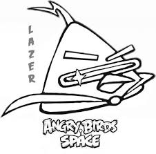 awesome as well as attractive angry bird space coloring pages