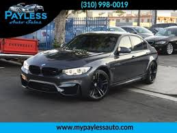 used 2015 bmw m3 at payless auto sales