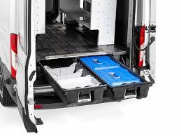 Cargo Van Shelves by Decked Cargo Van Storage System Realtruck Com