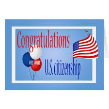 citizenship congratulations card congratulations us citizenship us flag card zazzle