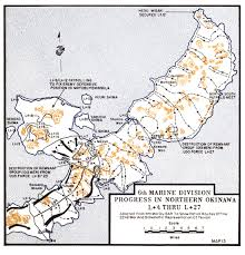 Okinawa Map The Battle For Okinawa Comparative Accounts Between Colonel